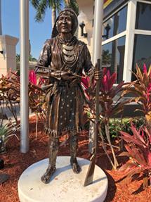 Bronze Statue Restoration