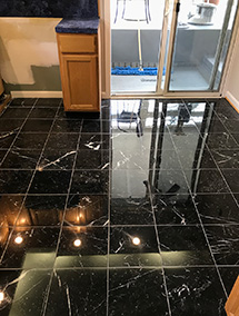 Negro Marquina black marble