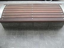 Exterior Wooden Bench