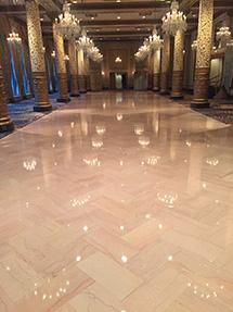 Marble Ballroom floor